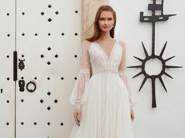 50 vestidos de novia hippie chic: belleza natural