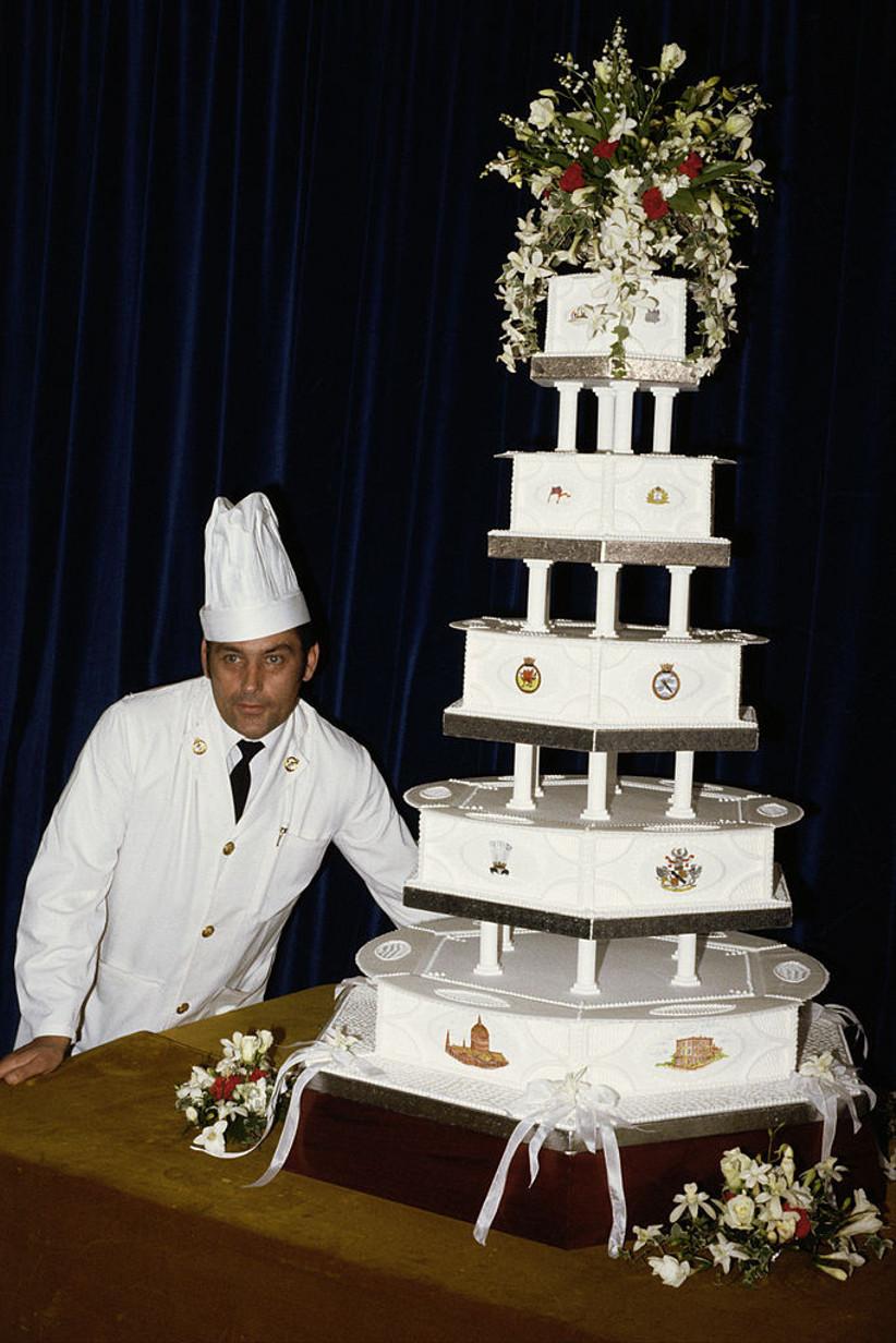 Torta boda Carlos y Diana