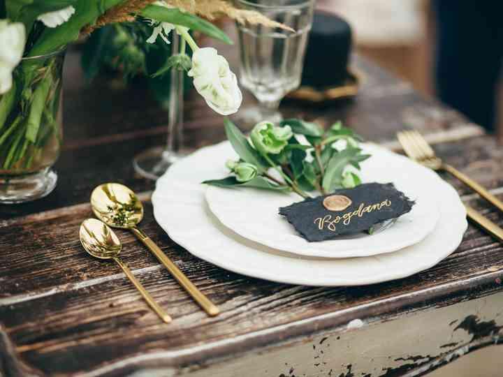 7 paletas de colores invernales que pueden incluir en su matrimonio