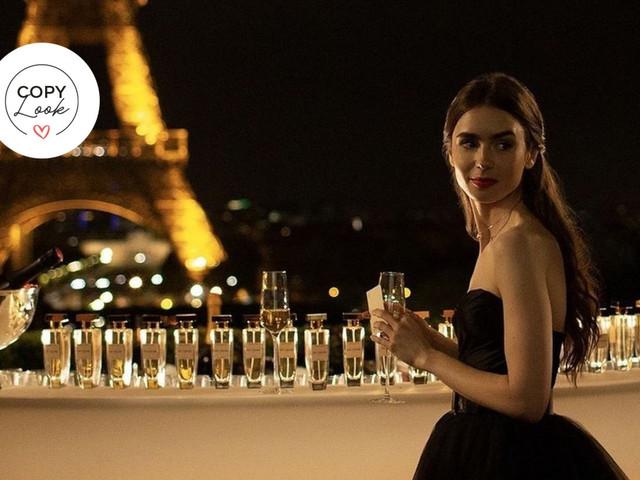 """Copy look: """"Emily in Paris"""" te da las pistas para ser la invitada con más estilo de la fiesta"""