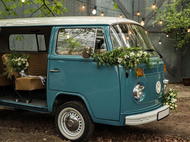Una caravana vintage en tu matrimonio