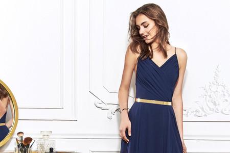 80 vestidos de fiesta azules para toda ocasión