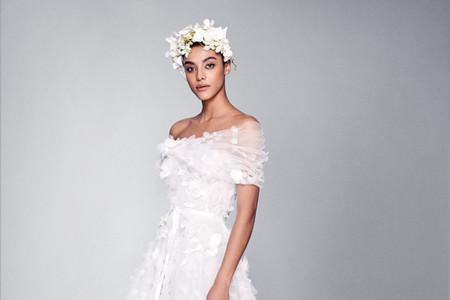 Los vestidos de novia 2022 de Marchesa llenan de romanticismo el universo nupcial