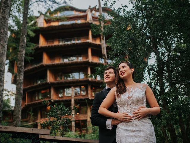 """Matrimonios en Huilo Huilo: decir """"sí, quiero"""" en medio de la Selva Patagónica"""