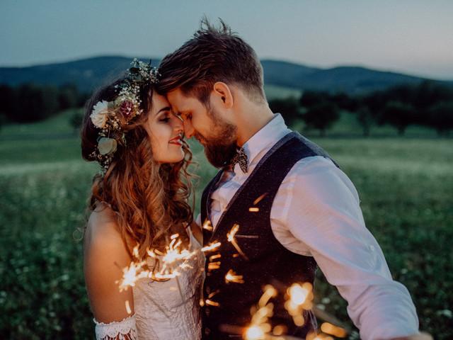 ¿Una fiesta de matrimonio en Año Nuevo? ¡A decorarla!