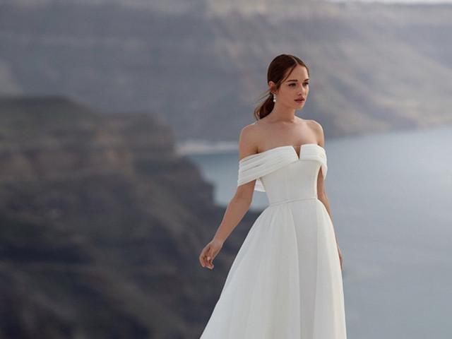 Inspírate con la delicadeza de los vestidos de novia de Jolies 2022