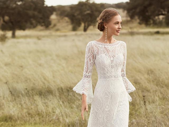 250 vestidos de novia con encaje: una apuesta segura y seductora por igual