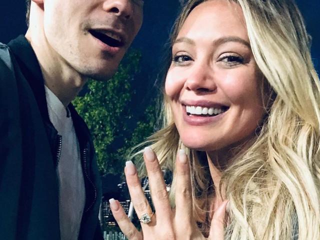 ¡Hilary Duff está comprometida con Matthew Koma!