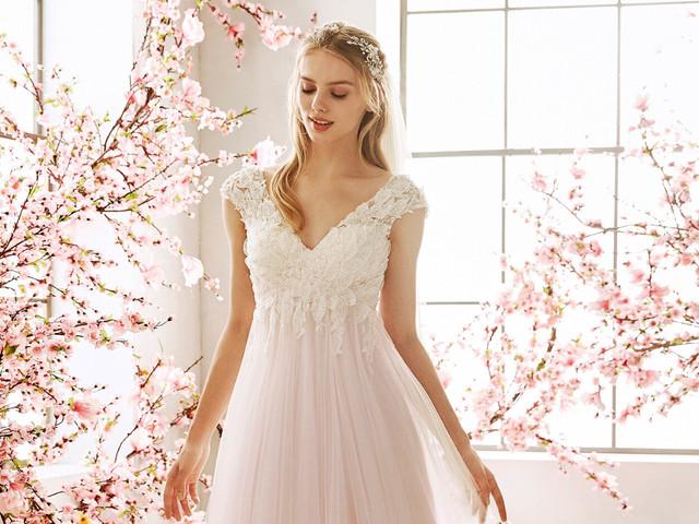 Vestidos de novia de estilo griego para cada novia