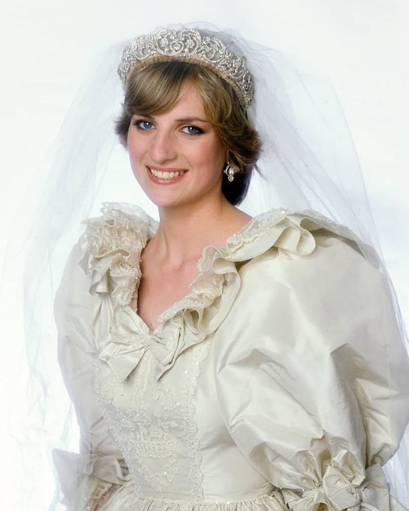 Lady Di de novia