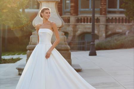 Descubre los vestidos de novia más chic de 2021 con Luna Novias