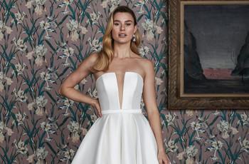La elegancia se adueña de los vestidos de novia 2021 de Justin Alexander Signature