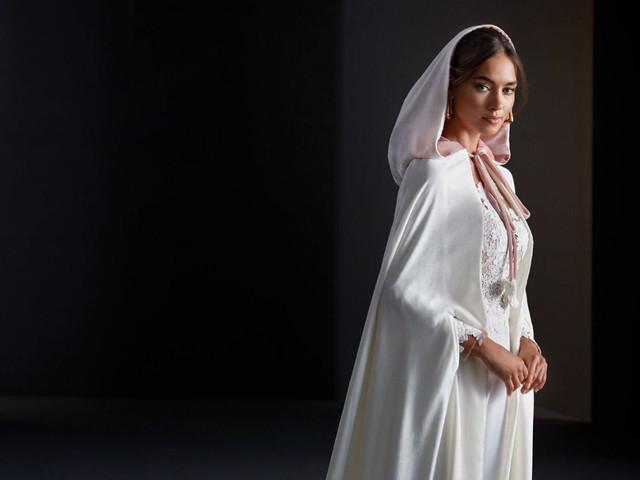 6 ideas de abrigo para tu look de novia