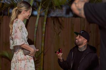 ¡Nicky Jam se casa! Le pidió matrimonio a su novia en San Valentín