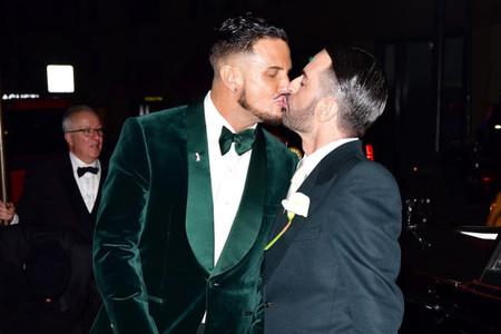 El destacado diseñador de moda, Marc Jacobs, se casó en Nueva York
