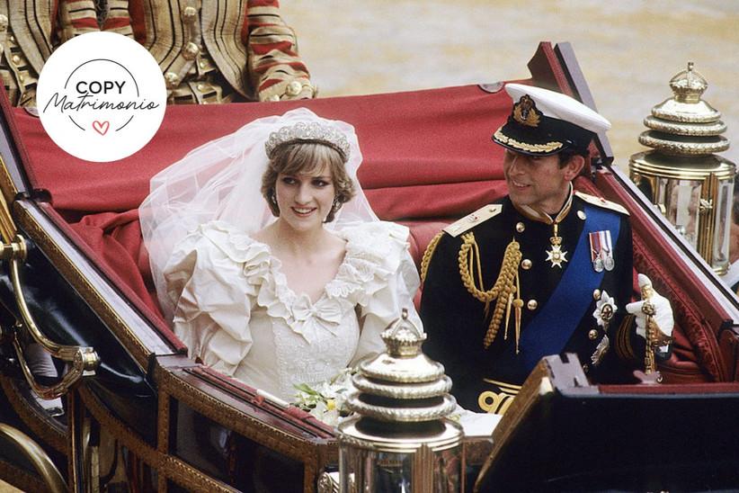 Boda Real Lady Di y Príncipe Carlos