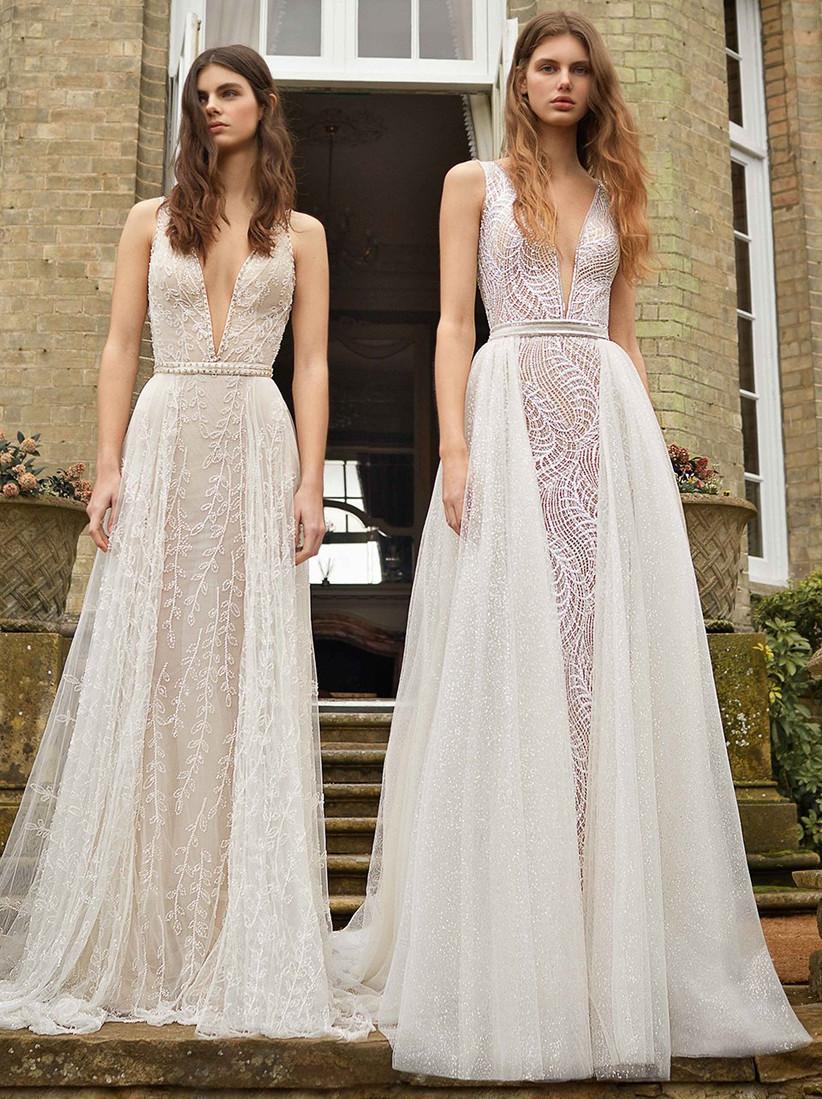 Vestidos de novia escote V profundo Galia Lahav
