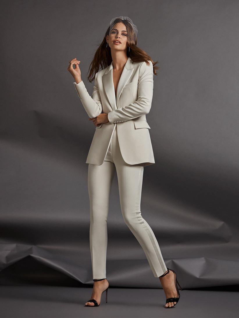 Pantalón Falda O Vestido Para El Matrimonio Civil