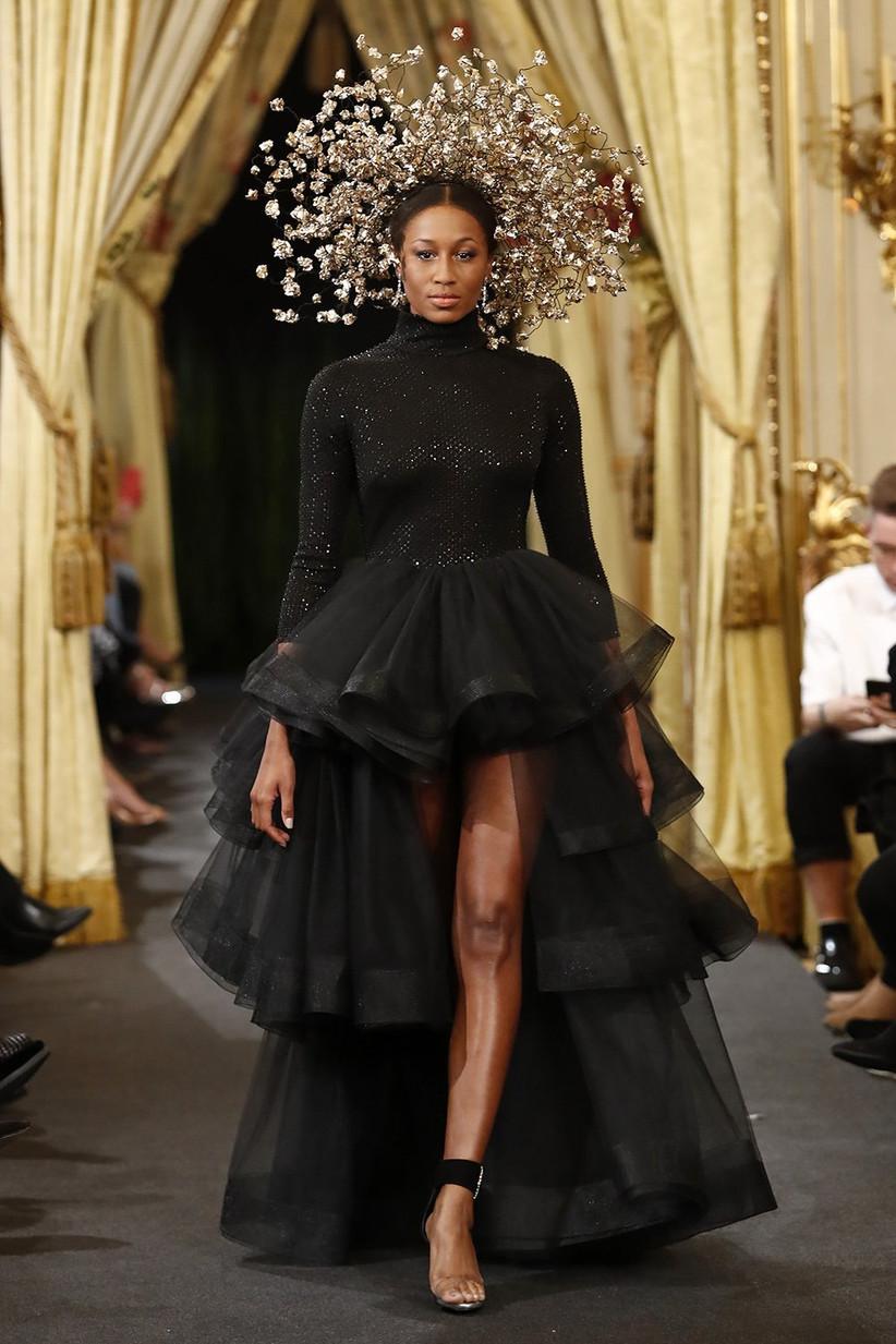 Cuál Es El Significado De Casarse Con Un Vestido De Novia Negro