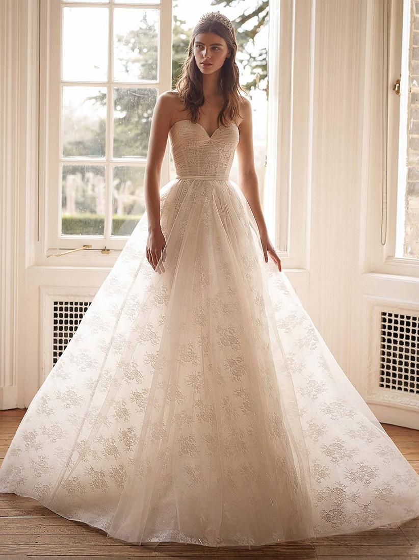 vestido de novia princesa Galia Lahav