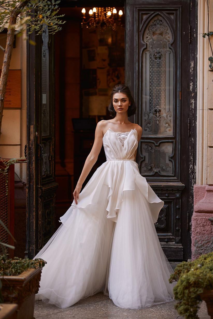 vestido de novia Daria Karlozi vuelos