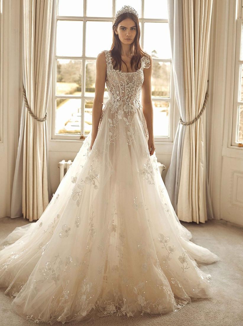 Vestido de novia estilo princesa Galia Lahav
