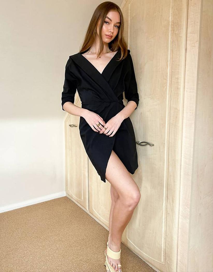 Vestido negro Asos