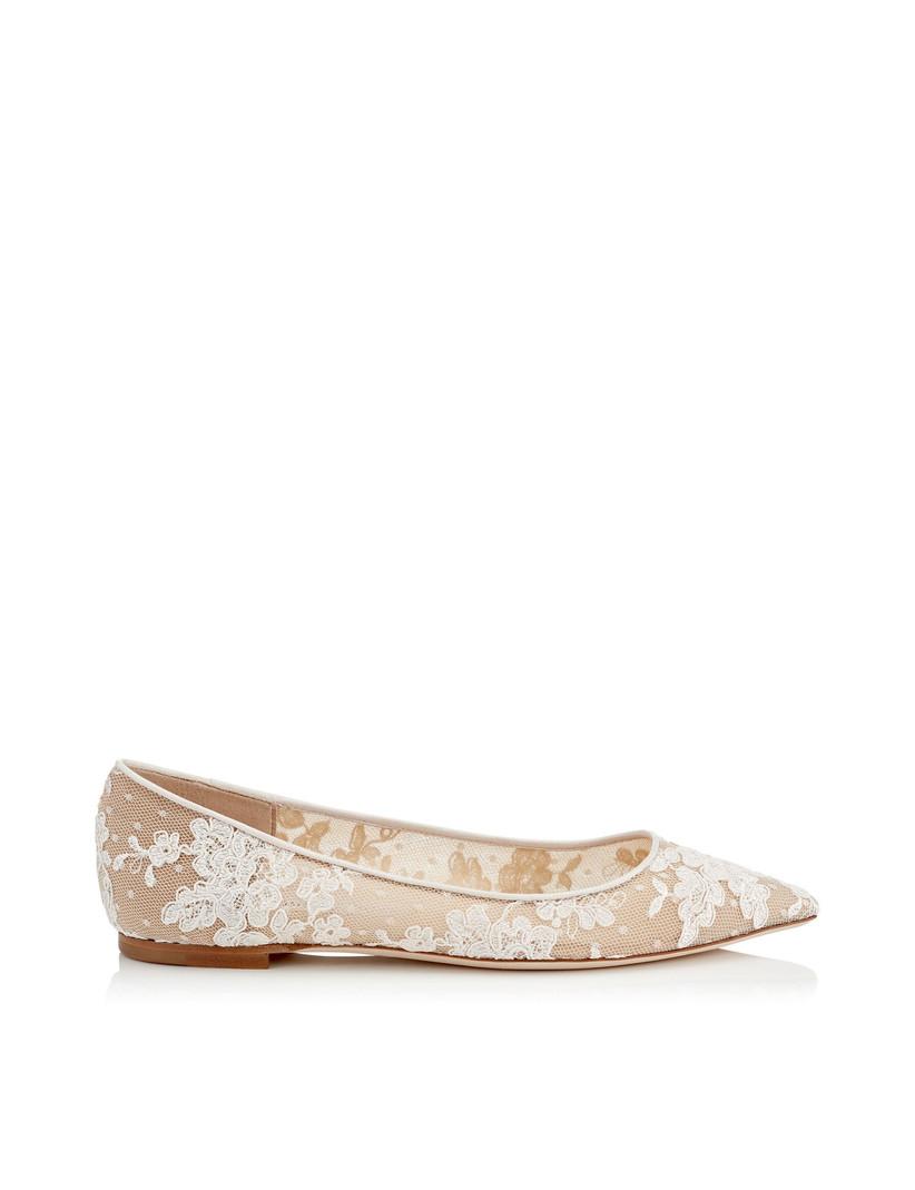 zapatos bajo novia
