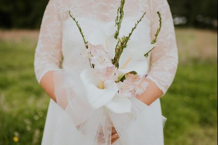 5 ramos de novias con calas para exhibir elegancia el día de tu matrimonio