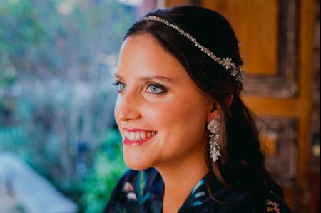 Tips de maquillaje para novias de ojos azules