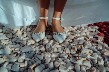 Llevar un segundo par de zapatos a tu matrimonio: la solución ideal