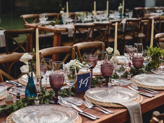 Centros de mesa de matrimonio con flores: 7 estilos para cada pareja