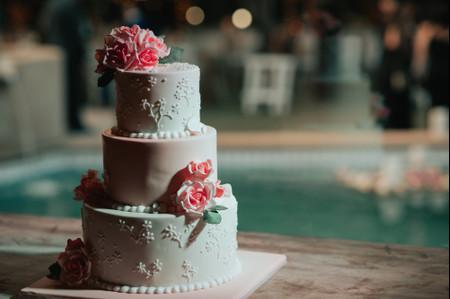 40 tortas de matrimonio con flores para inspirarse