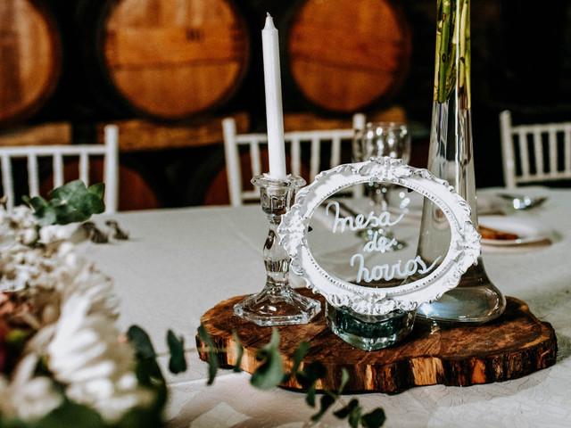 Centros de mesa de matrimonios sin flores