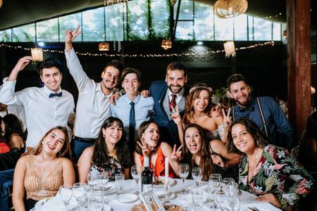 Hacer o no el recorrido de mesas para las fotos de matrimonio