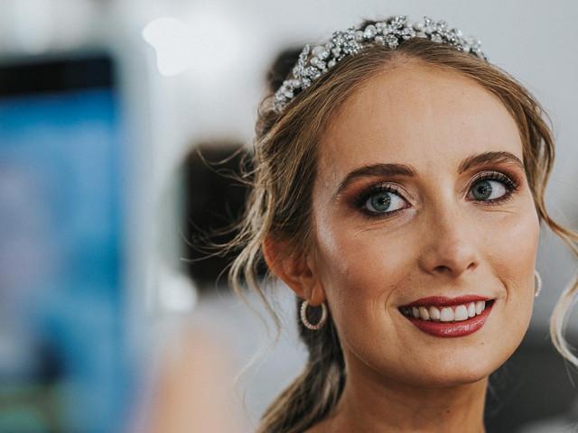 10 tips de maquillaje para novias rubias