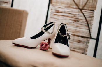 8 zapatos de novia de taco alto para elegir