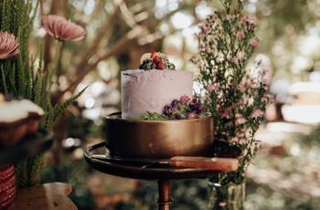 6 cosas que debes saber antes de encargar la torta de los novios