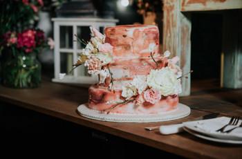 15 tortas de matrimonio decoradas para sacar al artista que llevan dentro