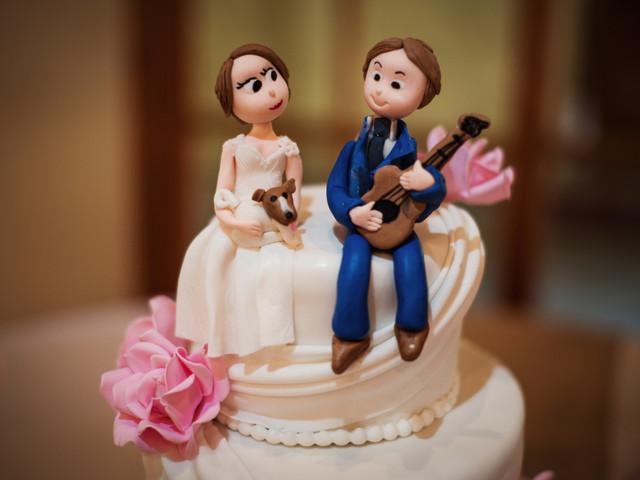 9 recomendaciones para el 'cake topper' de su torta de matrimonio