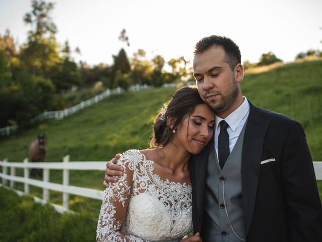 El encanto de un matrimonio en el campo