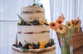 6 tendencias 2019 para la torta de matrimonio