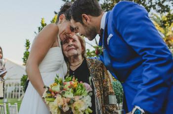 Cómo mimar a los abuelos durante la celebración del matrimonio