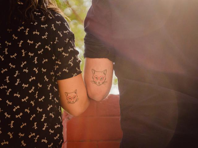 Tatuajes en pareja: un compromiso en tinta