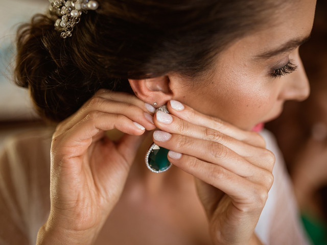 Los aros perfectos para cada tipo de novia