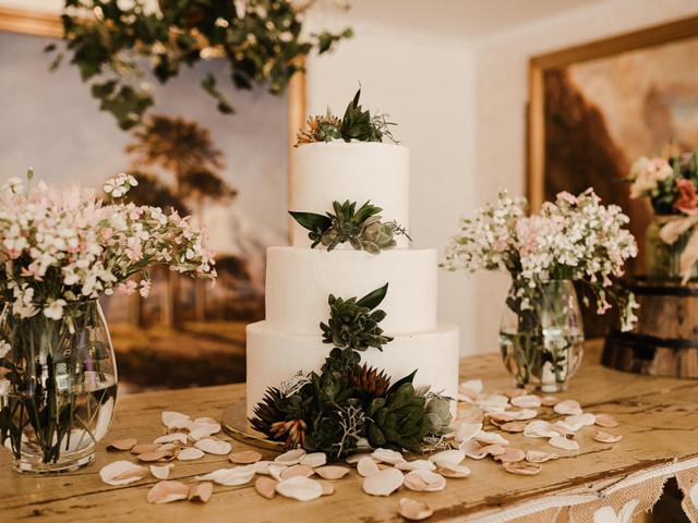 Tortas para matrimonios de invierno