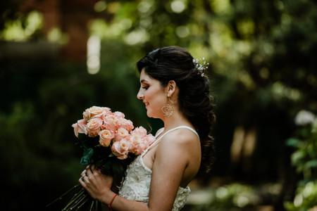 ¿Y si tu ramo de novia es de un solo color? 7 razones para elegirlos