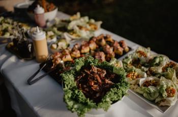 Todo lo que tienen que saber para un matrimonio con menú buffet