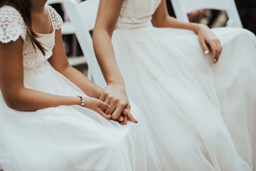 madre e hija detalles boda