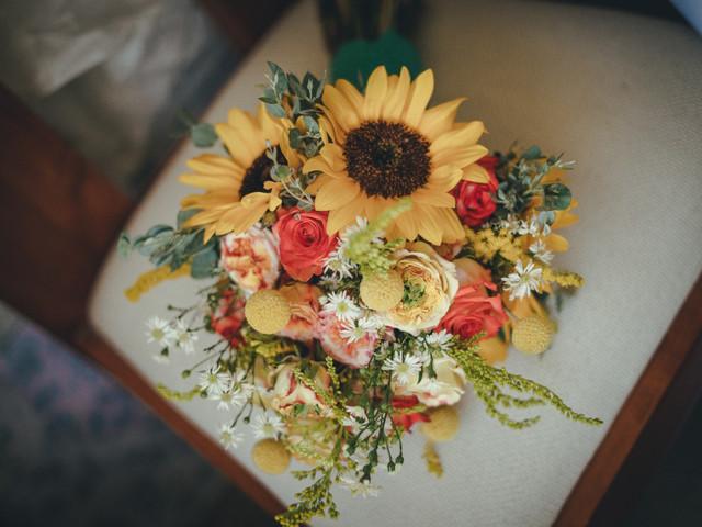 7 tipos de flores para un ramo de novia de verano